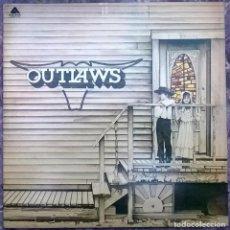 Discos de vinilo: THE OUTLAWS. THE OUTLAWS. ARISTA, UK 1975 LP + DOBLE CUBIERTA (ARTY 115). Lote 166563742