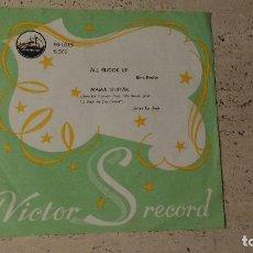 Discos de vinilo: SINGLE DEL CANTANTE NORTEAMERICANO DE ROCK AND ROLL, ELVIS PRESLEY- EDICION JAPONESA -. Lote 166572230