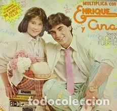 ENRIQUE Y ANA - MULTIPLICA CON ENRIQUE Y ANA (ESPAÑA, 1980) (Música - Discos - LPs Vinilo - Música Infantil)