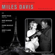 Discos de vinilo: MILES DAVIS * LP 180G HEAVYWEIGHT * BANDA SONORA * LIFT TO THE SCAFFOLD * PRECINTADO. Lote 188843151
