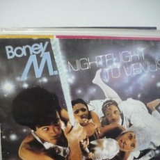 Discos de vinilo: BONEY M NIGHTFLIGT TO VENUS. Lote 166595278