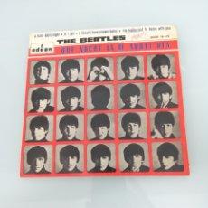 Discos de vinilo: THE BEATLES. QUE NOCHE LA DE AQUEL DÍA. 45 RPM. ODEON 16.619. Lote 166598229