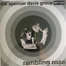 Discos de vinilo: EP 7'' THE SPENCER DAVIS GROUP – RAMBLING ROSE. Lote 166598622