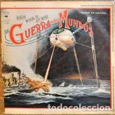 Discos de vinilo: LA GUERRA DE LOS MUNDOS (VERSIÓN EN INGLES) DOBLE LP - JEFF WAYNE -VERS. MUSERS. MUSICA. Lote 166605514
