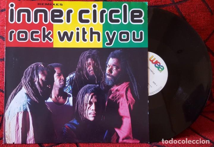 INNER CIRCLE ROCK WITH YOU REMIXES MAXI-SINGLE VINILO 1992 ALEMANIA (Música - Discos de Vinilo - Maxi Singles - Reggae - Ska)
