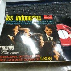 Discos de vinilo: LOS INDONESIOS EP GITANA + 3 1966. Lote 166611102