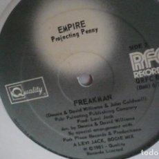 Discos de vinilo: EMPIRE PROJECTING PENNY. Lote 166626874