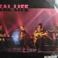 Discos de vinilo: REAL LIFE. Lote 166627070