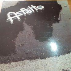 Discos de vinilo: DISCO VINILO LP ASFALTO. Lote 166630672