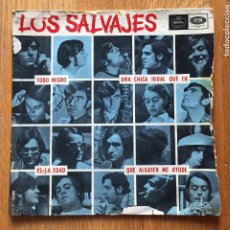 Discos de vinilo: LOS SALVAJES, SINGLE. Lote 166640026