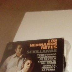 Discos de vinil: BAL-6 DISCO CHICO 7 PULGADAS LOS HERMANOS REYES TU RECUERDO. Lote 166642382