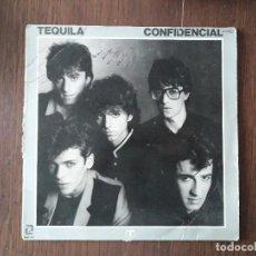 Discos de vinilo: DISCO VINILO LP TEQUILA, CONFIDENCIAL. ZAFIRO ZL-520-A AÑO 1981. Lote 166645722