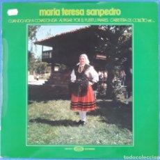 Discos de vinilo: VINILO MARÍA TERESA SAN PEDRO 1977. Lote 166663612