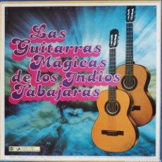 Discos de vinilo: VINILO LAS GUITARRAS MÁGICAS DE LOS INDIOS TABAJARAS EN BOX 8 LP 1979. Lote 166667144
