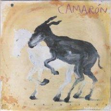 Disques de vinyle: CAMARON,LA PRIMAVERA LAS 2 CARAS IGUALES PROMO DEL 92. Lote 166667434