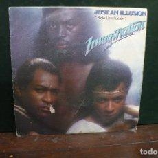 Discos de vinil: IMAGINATION - JUST AN ILLUSION, RED BUS 1982.. Lote 166668974
