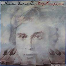Discos de vinilo: VINILO VOL. 1 FELIPE CAMPUZANO MELODÍAS INOLVIDABLES 1980. Lote 166670154
