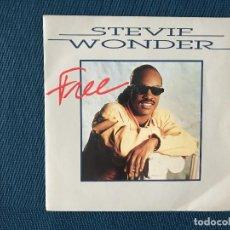 Discos de vinilo: STEVIE WONDER ?– FREE SELLO: MOTOWN ?– ZB 42 321 FORMATO: VINYL, 7 SINGLE, 45 RPM PAÍS: FRANCE . Lote 166684322