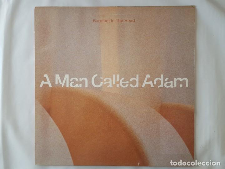 MAXI / A MAN CALLED ADAM / BAREFOOT IN THE HEAD / BIG LIFE 1990 (Música - Discos de Vinilo - Maxi Singles - Techno, Trance y House)