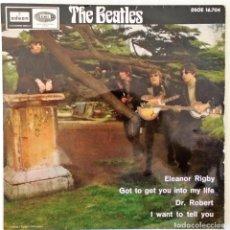 Discos de vinilo: THE BEATLES - ELEANOR RIGBY + 3 TEMAS ODEON - 1966. Lote 166704320