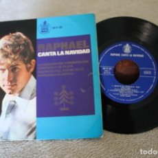 Discos de vinilo: RAPHAEL CANTA LA NAVIDAD EP 1965. Lote 166705030