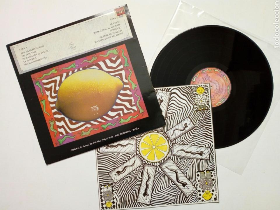 Discos de vinilo: LP : ANCHA ES CASTILLA - Confucio (Ohiuka, 1988) - Grupo vasco de rock de los ochenta - Muy bueno - - Foto 2 - 166700626