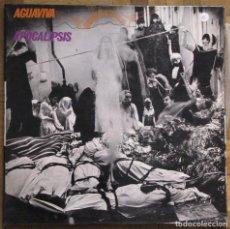 Discos de vinilo: AGUAVIVA. APOCALIPSIS. ACCION, AC-4-LP, 1971, ESPAÑA. GATEFOLD. FUNDA Y DISCO EX, EX.. Lote 166706458