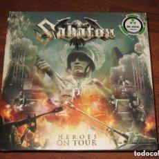 Discos de vinilo: SABATON - HEROES ON TOUR 2LP GATEFOLD VINILO. Lote 191903002