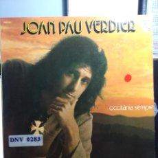Discos de vinilo: LP JEAN PAU VERDIER : OCCITÀNIA SEMPRE . Lote 166717434