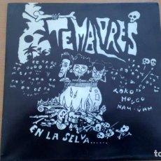 Discos de vinilo: TEMBLORES - PERDIDO EN LA SELVA+1 SINGLE ES3/AYUNT. DE IRUN 1993// NEO ROCKABILLY PSYCHOBILLY. Lote 166718038