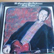 Discos de vinilo: SONNY BURGESS THE LEGENDARY SUN PERFORMERS LP. Lote 166718978
