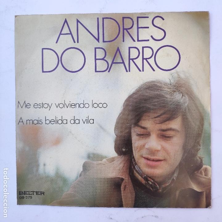 ANDRES DO BARRO - ME ESTOY VOLVIENDO LOCO - SE VENDE SÓLO PORTADA (SIN VINILO EN EL INTERIOR) (Música - Discos - Singles Vinilo - Otros estilos)