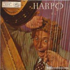 Discos de vinilo: EP HARPO MARX MERCURY 10012 SPAIN HONEYSUCKLE ROSE EASY LISTENING JAZZ. Lote 166747322