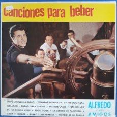 Discos de vinilo: VINILO CANCIONES PARA BEBÉR ALFREDO Y SUS AMIGOS 1983. Lote 166747360