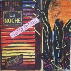 Discos de vinilo: MYSTIC: RITMO DE LA NOCHE (RADIO MIX) / RITMO DE LA NOCHE (CLUB EDIT). HOUSE ELECTRÓNICO. Lote 216441973