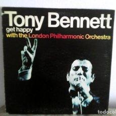 Discos de vinilo: TONY BENNETT - GET HAPPY LP DISCO VINILO. Lote 166750274