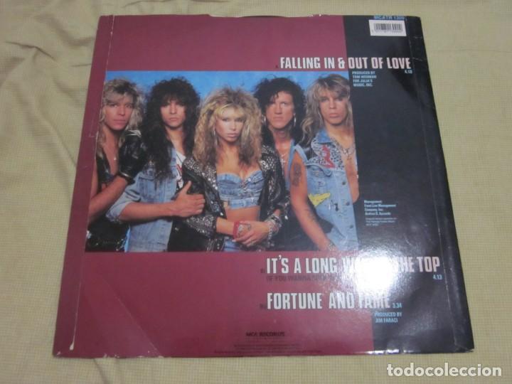 Discos de vinilo: FEMME FATALE - FALLING IN & OUT OF LOVE - MAXI EDICION LIMITADA INGLESA DEL AÑO 1988. - Foto 2 - 166759546