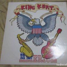 Discos de vinilo: KING KURT - AMERICA - MAXI - EDICION INGLESA DEL AÑO 1986 - 3 TEMAS.. Lote 166761218