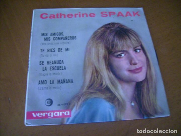 EP : CATHERINE SPAAK + 1 ED SPAIN 1964 (Música - Discos de Vinilo - EPs - Canción Francesa e Italiana)