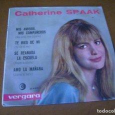 Discos de vinilo: EP : CATHERINE SPAAK + 1 ED SPAIN 1964. Lote 166769106