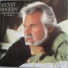 Discos de vinilo: KENNY ROGERS: WHAT ABOUT ME? / THE REST OF LAST NIGHT. CON KIM CARNES Y JAMES INGRAM. Lote 166774090