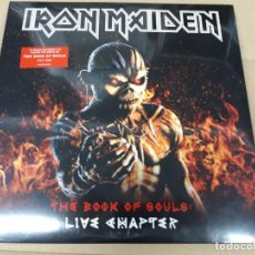Discos de vinilo: IRON MAIDEN - THE BOOK OF SOULS : LIVE CHAPTER-3 LPS. Lote 166797958