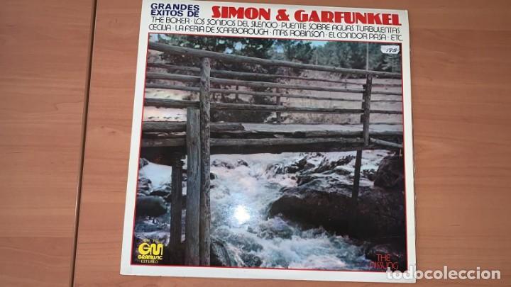 VINILO THE NISSUNG - GRANDES EXITOS DE SIMON Y GARFUNKEL - GRAMUSIC GM-712 - 1978 (Música - Discos - Singles Vinilo - Cantautores Extranjeros)