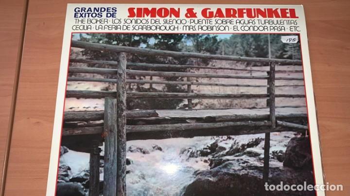 Discos de vinilo: VINILO The Nissung - Grandes Exitos de Simon y Garfunkel - GraMusic GM-712 - 1978 - Foto 2 - 166800070