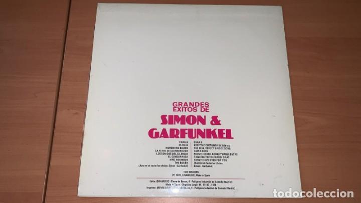 Discos de vinilo: VINILO The Nissung - Grandes Exitos de Simon y Garfunkel - GraMusic GM-712 - 1978 - Foto 3 - 166800070