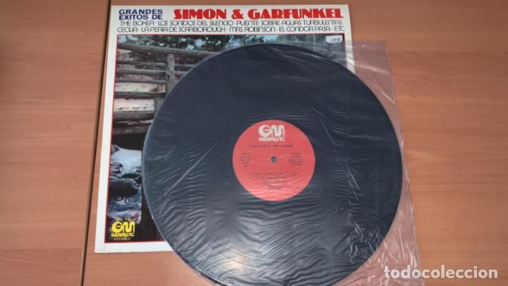 Discos de vinilo: VINILO The Nissung - Grandes Exitos de Simon y Garfunkel - GraMusic GM-712 - 1978 - Foto 4 - 166800070