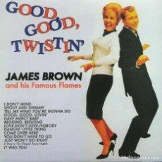 Discos de vinilo: JAMES BROWN AND HIS FAMOUS FLAMES * LP 180G * GOOD, GOOD, TWISTIN' * NUEVO. Lote 166801458