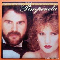Discos de vinilo: PIMPINELA Y DYANGO: POR ESE HOMBRE / NO ENTIENDO AL AMOR - SINGLE - EPIC - 1985- MUY BUENO (VG+ /NM). Lote 166801662