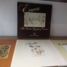 Discos de vinilo: 75 ANIVERSARIO: PACK COLECCION COMPLETA 3 VINILOS - ENCORE THE LONDON SYMPHONY ORCHESTRA. Lote 166807702