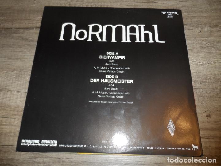 Discos de vinilo: NORMAHL - BIERVAMPIR - Foto 2 - 166819146
